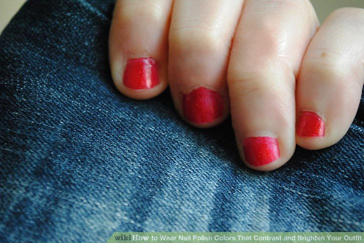 Image Led Wear Nail Polish Colors That Contrast And Brighten Your Outfit Step 2