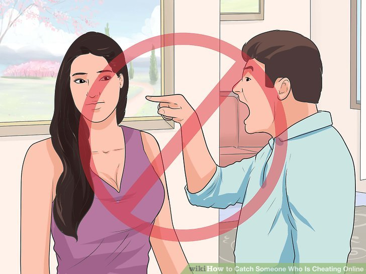 how to catch your partner cheating online