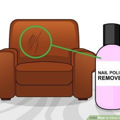 How To Get Rid Of Ink Marks On Leather Sofa Sofas Dfs 5 Ways Clean Stains Wikihow Image Titled Step 18