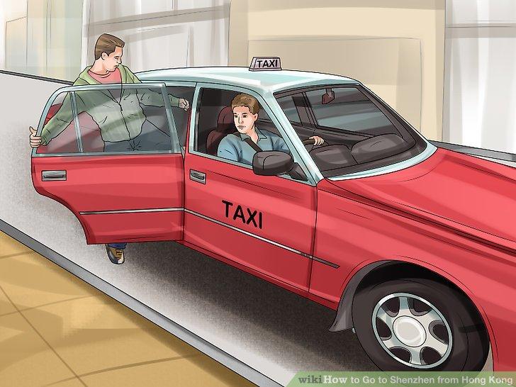 Nehmen Sie ein Taxi direkt zur Grenze, um eine schnellere Route zu erhalten.