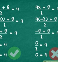 4 Ways to Use Distributive Property to Solve an Equation - wikiHow [ 873 x 1200 Pixel ]