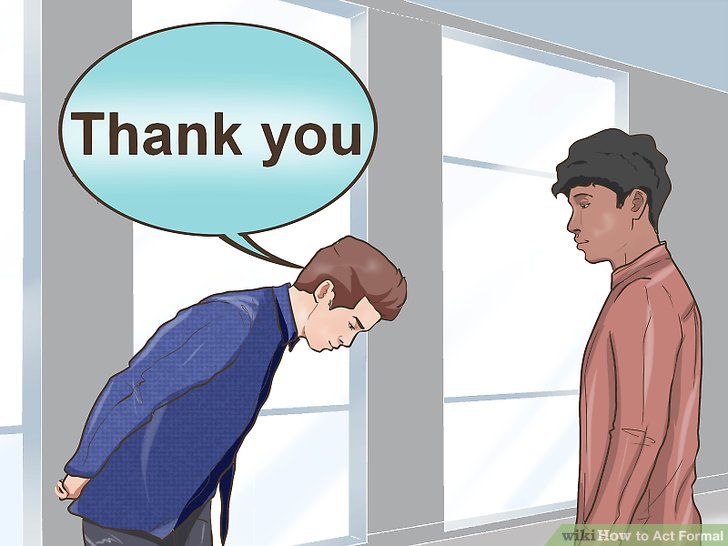 """Say """"please"""" and """"thank you."""