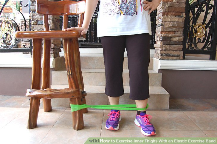 Positionieren Sie Ihren Körper für die Übung.