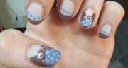 paint polka dot nails