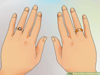 How to Wear a Wedding Ring: 11 Steps (with Pictures)