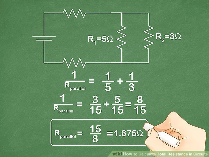 Series And Parallel Circuit And The Formula