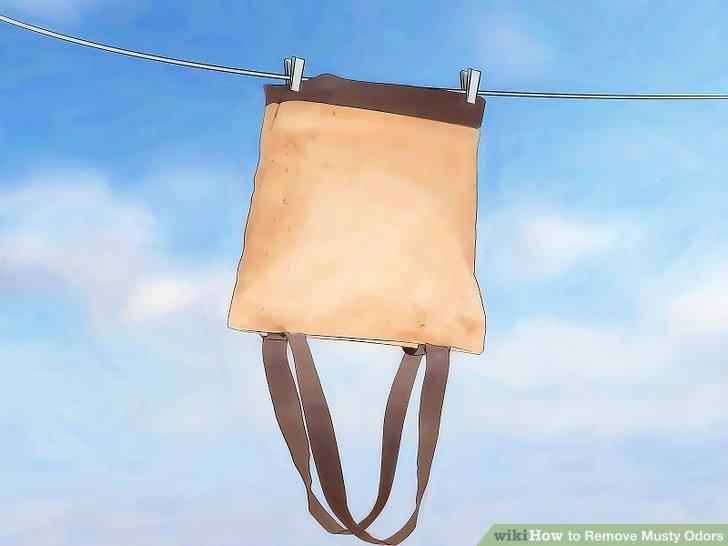 Lüften Sie Ihren Koffer oder Rucksack.