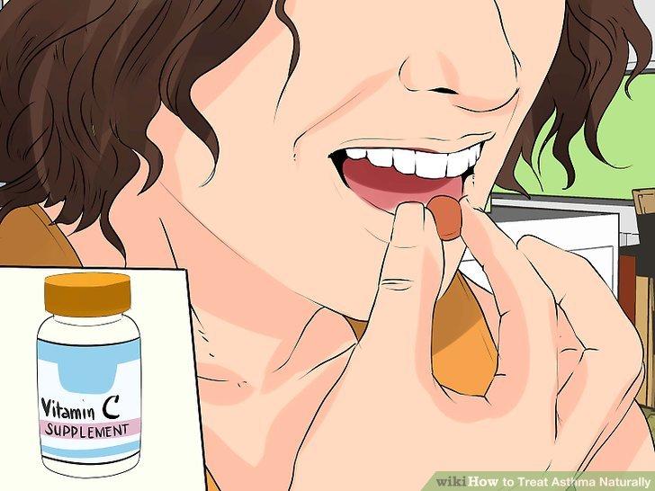 Nehmen Sie eine Vitamin-C-Ergänzung.