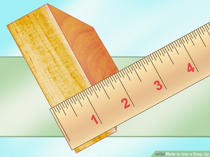Kullanmakta olduğunuz ahşabı ölçün.