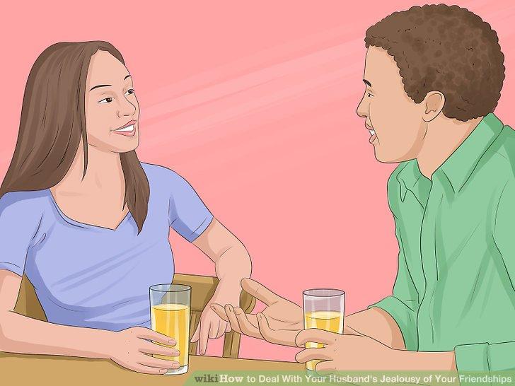 Sprechen Sie offen und ehrlich mit Ihrem Mann.