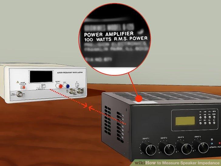 Schließen Sie das Werkzeug an einen Verstärkereingang an.