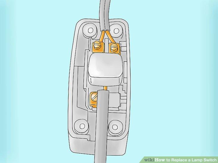 Untersuchen Sie Ihren neuen Switch, um herauszufinden, welche Drähte Sie schneiden müssen.