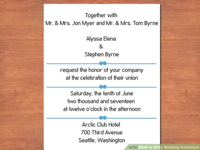 3 Easy Ways To Write Wedding Invitations With Pictures
