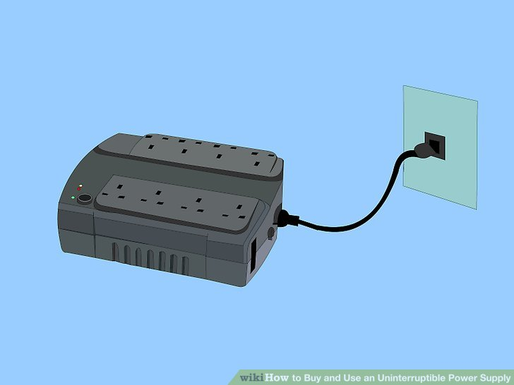 Uninterruptible Alarm Power Supply By 7805