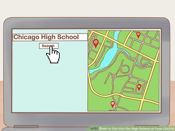 Überprüfen Sie anhand Ihres Wohnorts, welche Schulen Sie besuchen können.