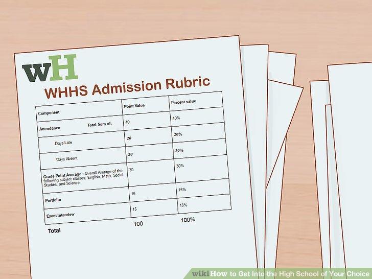 Sammeln Sie für jede Schule, die Sie besuchen, eine Eintrittskarte.
