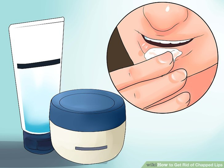 Versuchen Sie morgens eine Feuchtigkeitscreme wie Aquaphor.