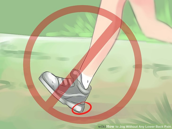 Ensure you are using proper jogging form.