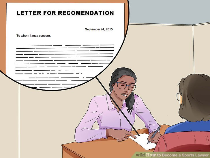 Bitten Sie um Empfehlungsschreiben.