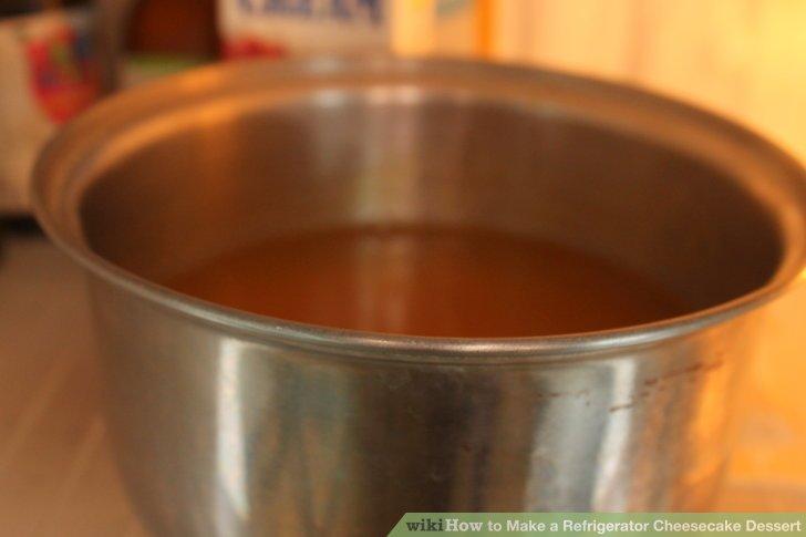 Chill until mixture begins to thicken.