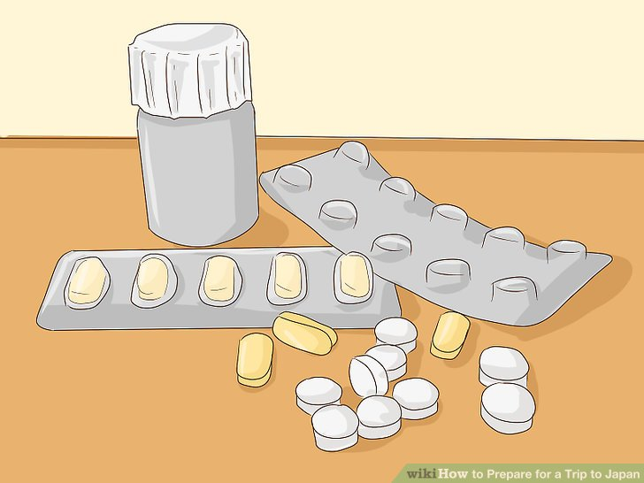 Vorrat Medikamente zusätzlich.