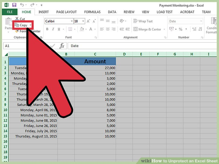 3 Ways to Unprotect an Excel Sheet - wikiHow