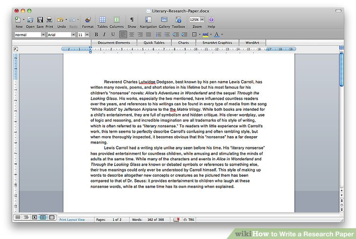 How To Write A Research Paper With Sample Research Papers