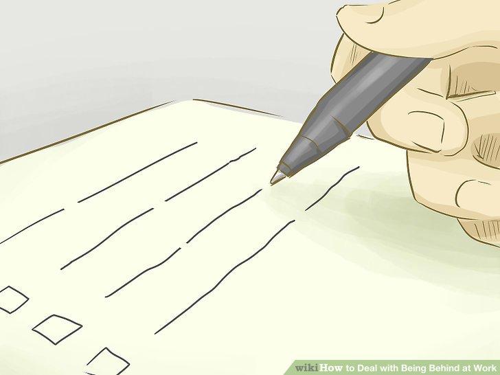 Erstellen Sie eine priorisierte Aufgabenliste.