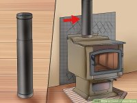 Diy Wood Stove Pipe Installation - Diy (Do It Your Self)