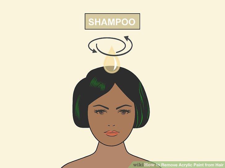 Tragen Sie eine großzügige Menge Shampoo auf Ihr Haar auf und massieren Sie es sanft ein.