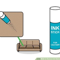 How To Get Rid Of Ink Marks On Leather Sofa Waterproof Protector 3 Ways Remove Stains From Wikihow Image Titled Step 6