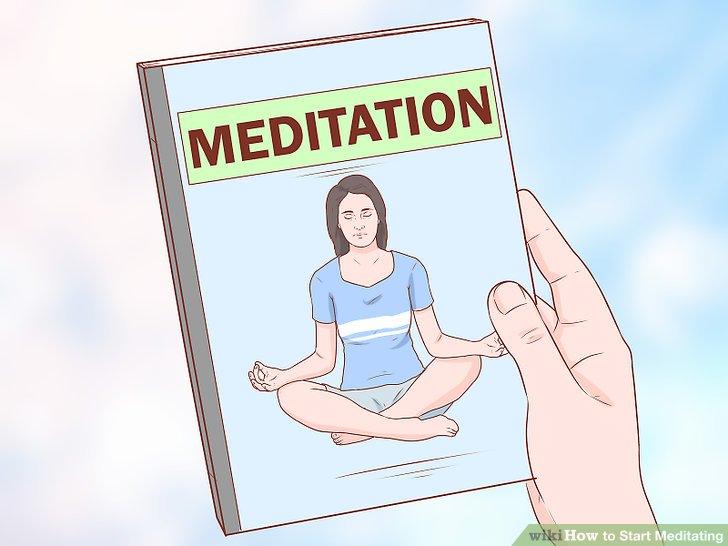 Read books on meditation.