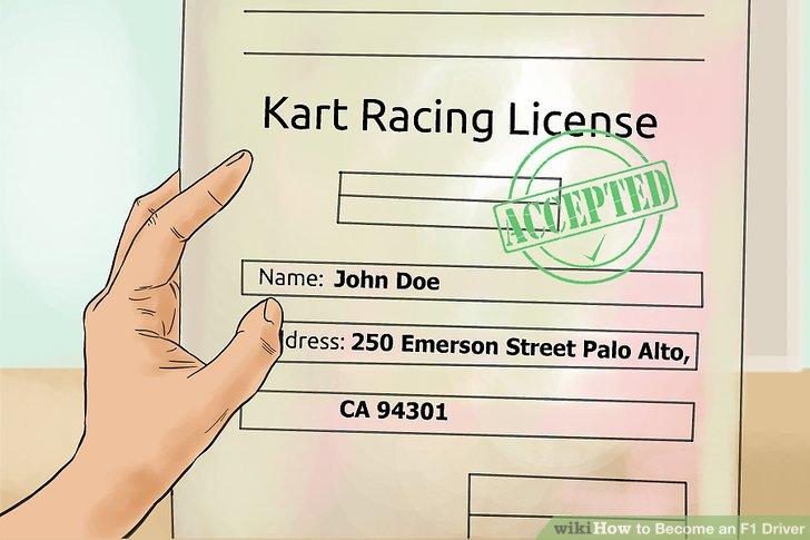 Get a kart racing license.