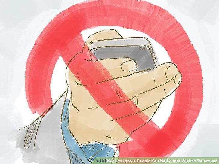 Blockieren Sie den Telefonkontakt mit jemandem, der nicht in der Nähe sein möchte.