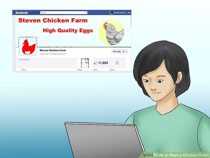 Online-Werbung für potenzielle Käufer.