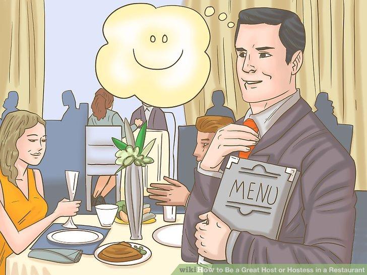 Behalten Sie Ihre Gelassenheit, auch wenn das Restaurant hektisch wird.
