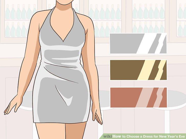 Tragen Sie Silber oder Gold für einen auffälligen, klassischen Look.