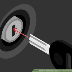Ignition Switch Deutsch Rover 75 Wiring Diagram And Body Electric System 3 Ways To Remove A Broken Key From An Lock Wikihow Image Titled Step 2