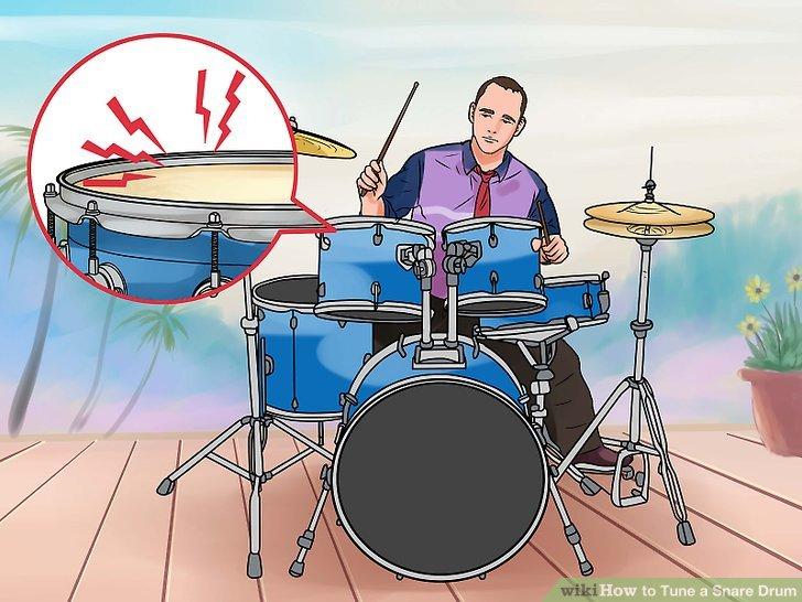 Wie ist es gemacht? - Wie Stimmen einer Snare-Drum