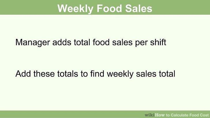 Finden Sie heraus, wie viel Sie während der Woche beim Lebensmittelverkauf erzielt haben.
