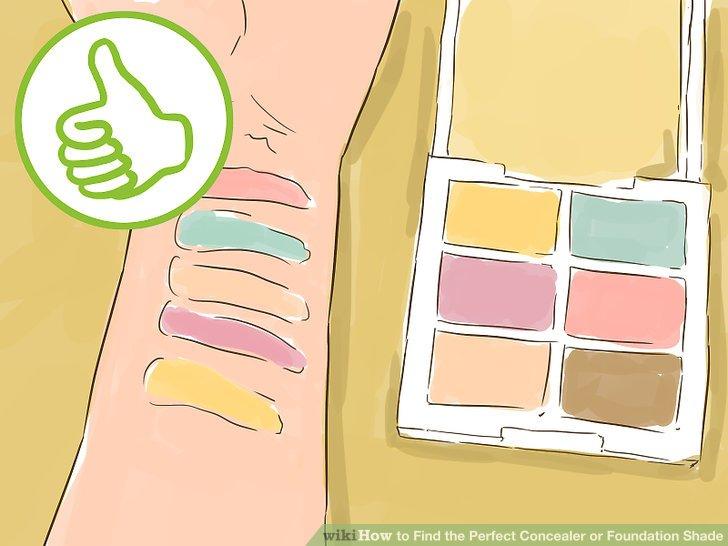 Beseitigen Sie spezifische Verfärbungen mit farbkorrigierendem Concealer.