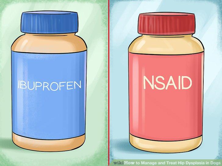 Probieren Sie entzündungshemmende Medikamente.