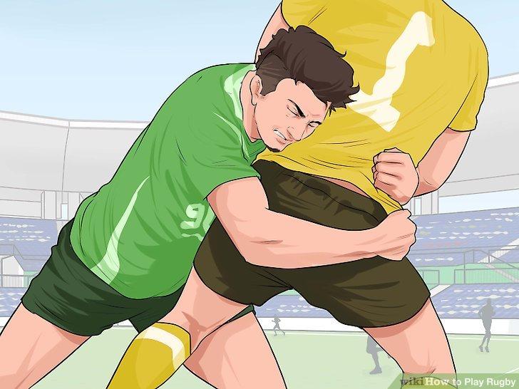 Tackle den Ballträger, um den Angriff des Gegners zu stoppen.