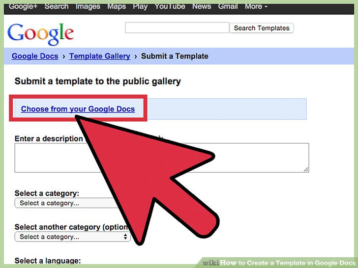 How to Create a Template in Google Docs 13 Steps with Pictures