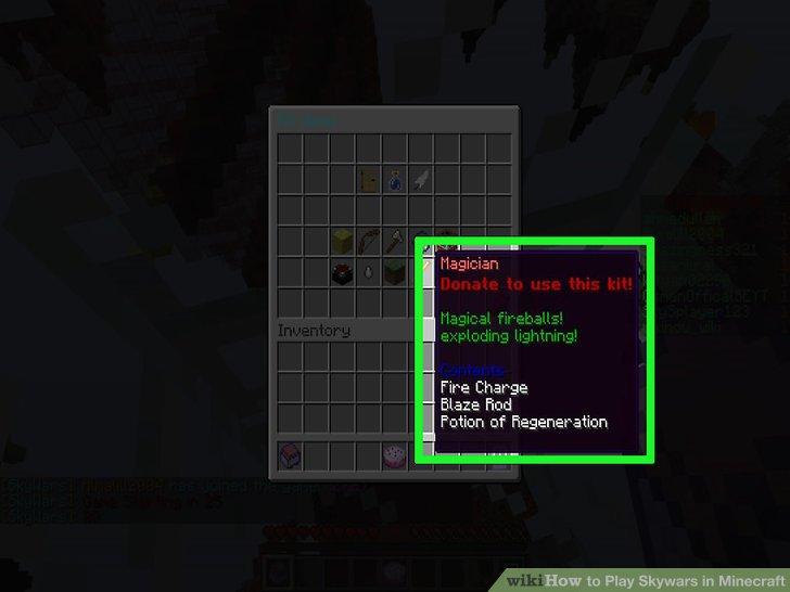 Wie Ist Es Gemacht Wie Zu Spielen In Minecraft Skywars - Minecraft verstecken spielen server