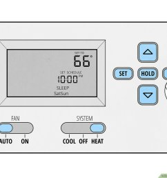 how to set a thermostat 14 steps with pictures wikihow lux thermostat two stage furnace wiring  [ 1200 x 900 Pixel ]