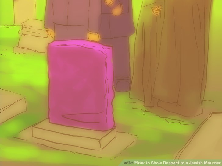 Enthülle das Grab.