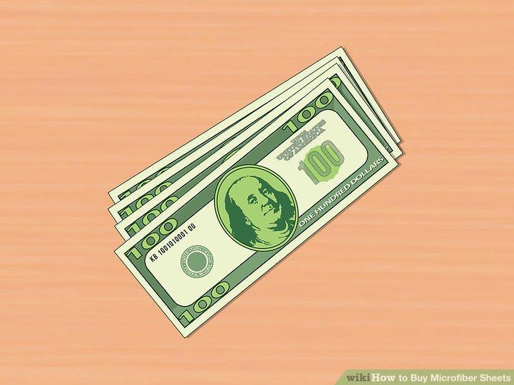 Entscheiden Sie, wie viel Sie ausgeben möchten.