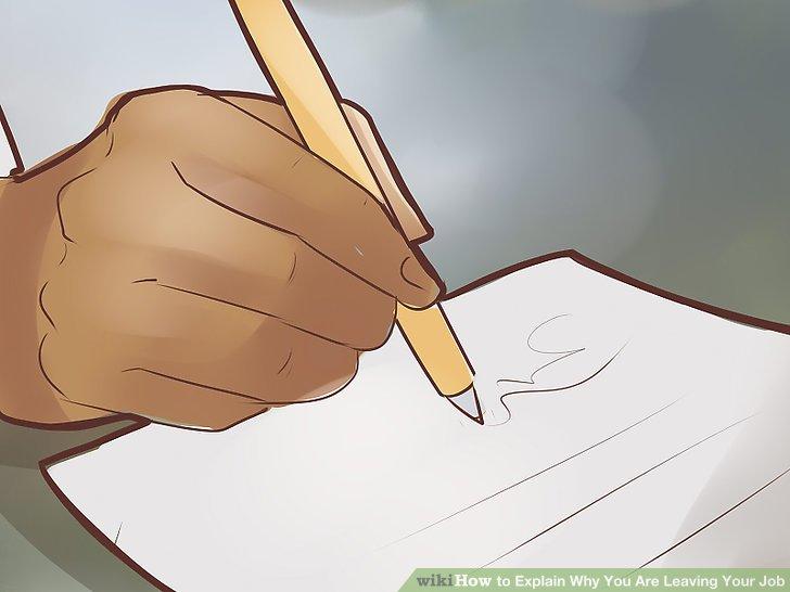 Lassen Sie ein unterschriebenes Rücktrittsschreiben vorbereiten.