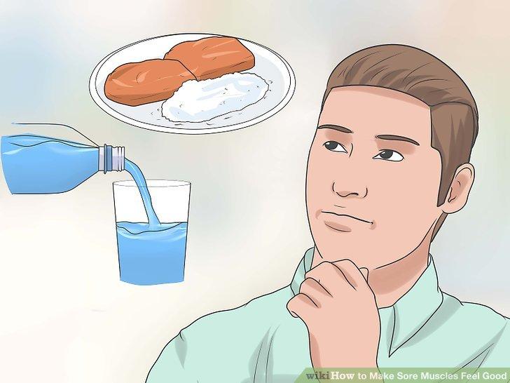 Planen Sie eine richtige Ernährung, einschließlich der Aufnahme von Feuchtigkeit.
